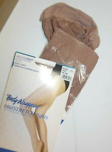 A55X Body Wrappers Footed Shimmer Tights (new/Package) Toast 3x-4x Dance Womens