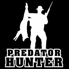 Predator Hunter Decal VH0021 Vinyl Die Cut Truck Window Stickers