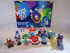 Disney INSIDE OUT Set of 12 pcs Cake Toppers Figures Playset. LOW PRICE!