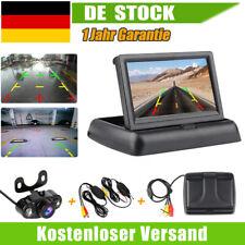 "Funk SET Einparkhilfe 170° Rückfahrkamera + 4,3"" Klappbar LCD Monitor Nachtsicht"