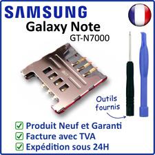 CONNECTEUR / LECTEUR DE CARTE SIM DU SAMSUNG GALAXY NOTE 1 i9220 N7000