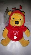 "Firefly Pooh 2000 8"" Disney Store Mini Bean Bag. Winnie the Pooh Battery is Dead"