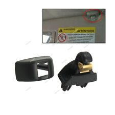Sun Visor Clip Holder Black Brackets 6RD857561 Fits VW Passat Polo SKODA Seat