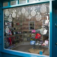 Ornament & Star Christmas Window Cling Epic Pack