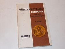Numex Münzenkatalog EUROPA 1900-1944 gesamt katalog OLUT ZIERL ehrlich PHILEX