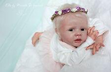 Beatifull Reborn Baby Doll Ella sculptor Karola Wegerich rebornbaby reborn