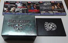 Bio Hazard Collector's Box + Seals + Memory Cards GameCube Nintendo Japan EXC