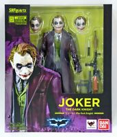 DC Bandai SH Figuarts Batman Joker The Dark Knight Action Figure