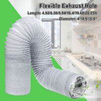 1.5M / 2M / 3M / 5M / 6M/8M Flexible Exhaust Hose Vent Tube For Air