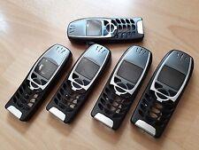 5 x NEUE KOMPLETTE Beschalungen für Nokia 6310i Nokia 6310  in Farbe   schwarz