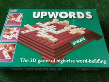 UPWORDS 3D BOARD GAME * FULLY COMPLETE * Vintage  Parker 1996