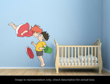 Ghibli Ponyo - Ponyo and Sosuke Kiss Wall Art Applique Stickers