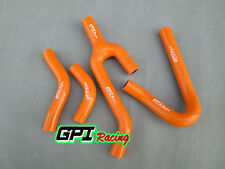 ORANGE silicone radiator hose KTM 250/300/380 SX/EXC/MXC 1998-2003 99 00 01 02