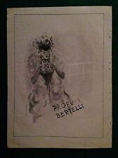 AM22 Pubblicità Advertising Clipping 32x24 cm (1947) PROFUMI BERTELLI Casularo
