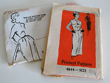 1958 Los Angeles Times Wiggle Sheath Dress Pattern —Sz 16 1/2 Bust 37 1/2 Uncut