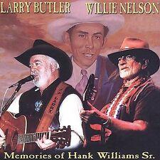 LARRY BUTLER & WILLIE NELSON - Memories of Hank Williams, Sr.  (CD NEW SEALED)