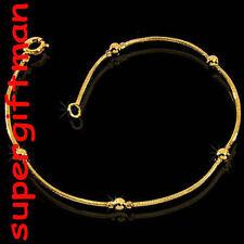 K005 -18 CM-BRACELET / armband SERPENT+BOULE- goud/or!