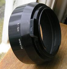 orginal nikon HS-9 lens hood for 50mm f1.4 lenses 52mm clip in