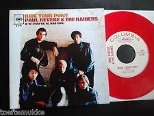 "RSD 7"" Red VINYL Paul Revere & The Raiders Ride The Pony +1 Record Store Day NEU"