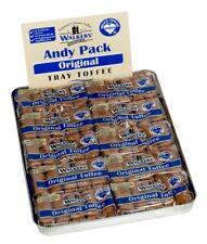 Walkers refrescante Original cremoso caramelo barras en bandeja de estaño tradicional de 100 g (Pack