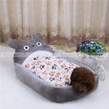 Warm Dog Bed Mat Cover Dogs Cats Pet Blanket Fleece Towel Paw Print Beds