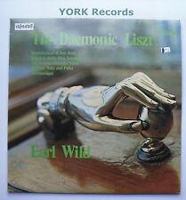 VCS 10041-Liszt-el daemonic Liszt Earl Wild-Excelente Estado Disco Lp