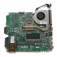 Dell Latitude 3440 Motherboard Intel i3-4010u with Heatsink and fan PTD1C