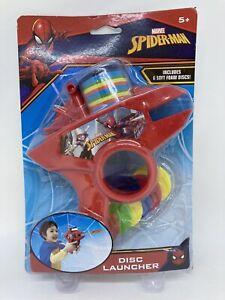 Spider-Man Foam Disc Launcher w/ 6 Foam Disc Ages 5+