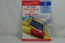 Disney School Skills Let's Learn How to Read & Understand Grade K Paperback