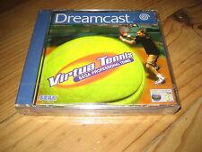 Virtua Tennis Sega Proffessional pour Dreamcast PAL