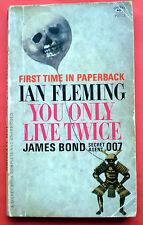 You Only Live Twice Ian Fleming paperback book Bond James Signet USA 1st pr 1965