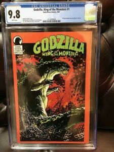 Dark Horse Special GODZILLA King of the Monsters #1 CGC 9.8 NM/MT Near Mint 1987