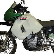 2011 2012 Kawasaki KLR650 32L Safari Long Range Fuel Tank Petrol Gas Clear