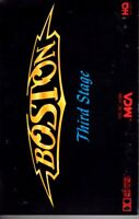 Boston Third 3rd Stage 1986 Hard Classic Rock Roll Cassette Tape Pop