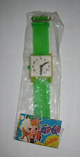 """Vintage 1970s NIP Green Toy """"Go-Go Watch"""" Five-And-Dime Store/Carnival Prize VTG"""