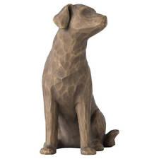 Willow Tree Love My Dog (Dark) Figurine 27683 Pet in Branded Gift Box