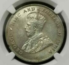 NGC MS 62 Straits Settlements silver coin 1920 $1 dollar UNC