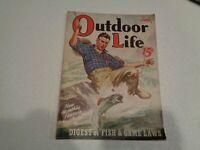 OUTDOOR LIFE MAGAZINE Vintage June 1939 Fishing Cover Art Walter Hinton