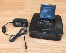 Memorex (Mi4019) iPod Docking Station / Alarm / Clock Radio w/ Power Supply