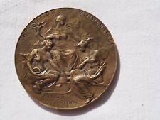 1905 Belgium Bronze Medal  Exposition Universelle   Liege