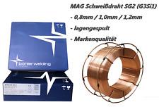 Schweißdraht SG2 15kg 0,8 1,0 1,2 Böhler Welding Schutzgas MIG/MAG TÜV (G3Si1)
