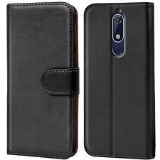 Handy Tasche für Nokia 5.1 Flip Case Schutz Hülle Cover Wallet Etui Bookcase