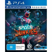 Space Junkies VR PS4 Playstation VR PSVR Brand New Sealed AU Stock Free Post