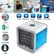 7 LED Mini Aire Acondicionado Ventilador Al Agua Arctic Air USB / Humidificador