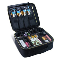 Travel Makeup Case- Professional Cosmetic Makeup Bag Organizer Makeup Boxes NEW