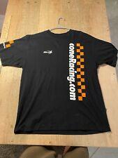 Vintage Cone Racing slalom skateboard shirt contest SIZE XL