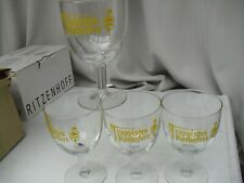Quatre verres de la bière trappiste belge de Rochefort