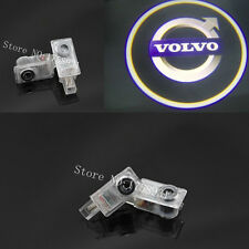 2x LED door step courtesy laser projector light For Volvo V60 V40 XC90 S60 C70