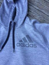 Adidas Gray Sweatshirt Hoodie Large