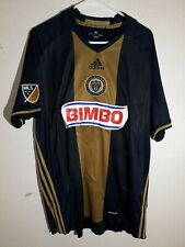 Adidas MLS Jersey Philadelphia Union Team Navy sz 2XL